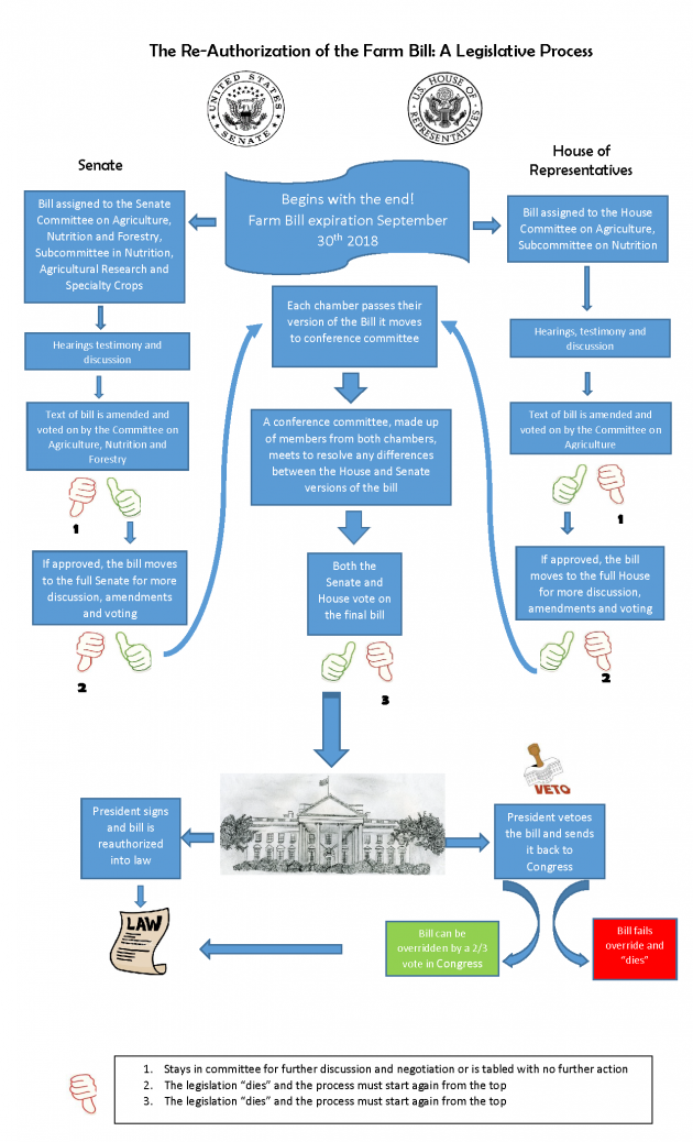 Farm Bill Re-Authorization Infographic