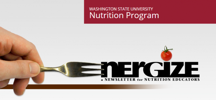 WA nutrition newsletter logo